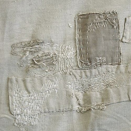 menders (I love old linens with menders in them, seems they loved the piece so much they were willing to mend it)