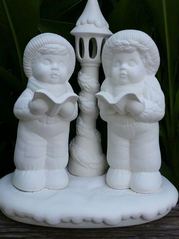 Dona Carolers Ceramic Bisque Pinterest Caroler