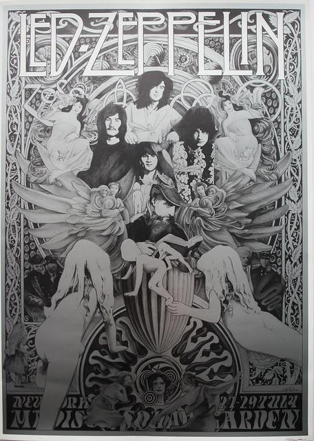 led zepplin poster