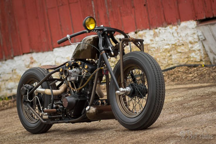 Harley-Davidson : Other | Other, Custom bobber and Awesome