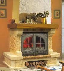 Resultado de imagen de revestimiento para chimeneas insertables