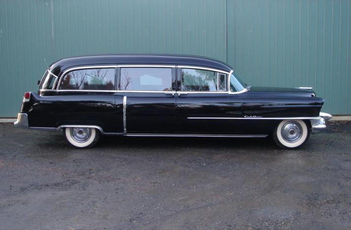 1955 cadillac hearse hearse pinterest. Black Bedroom Furniture Sets. Home Design Ideas