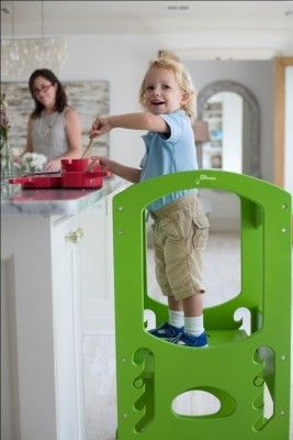 The Learning Tower- im desperate for one so my toddler can join in on cooking #EntropyWishList #PinToWin