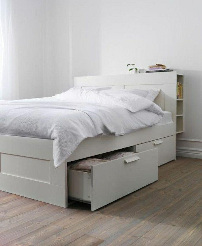 Bett Schubladen Beautiful Bett Mit Schubladen Praktisch Und Modern Archzine In 2020 Bett Mit Aufbewahrung Bett Mit Schubladen Ikea Bett
