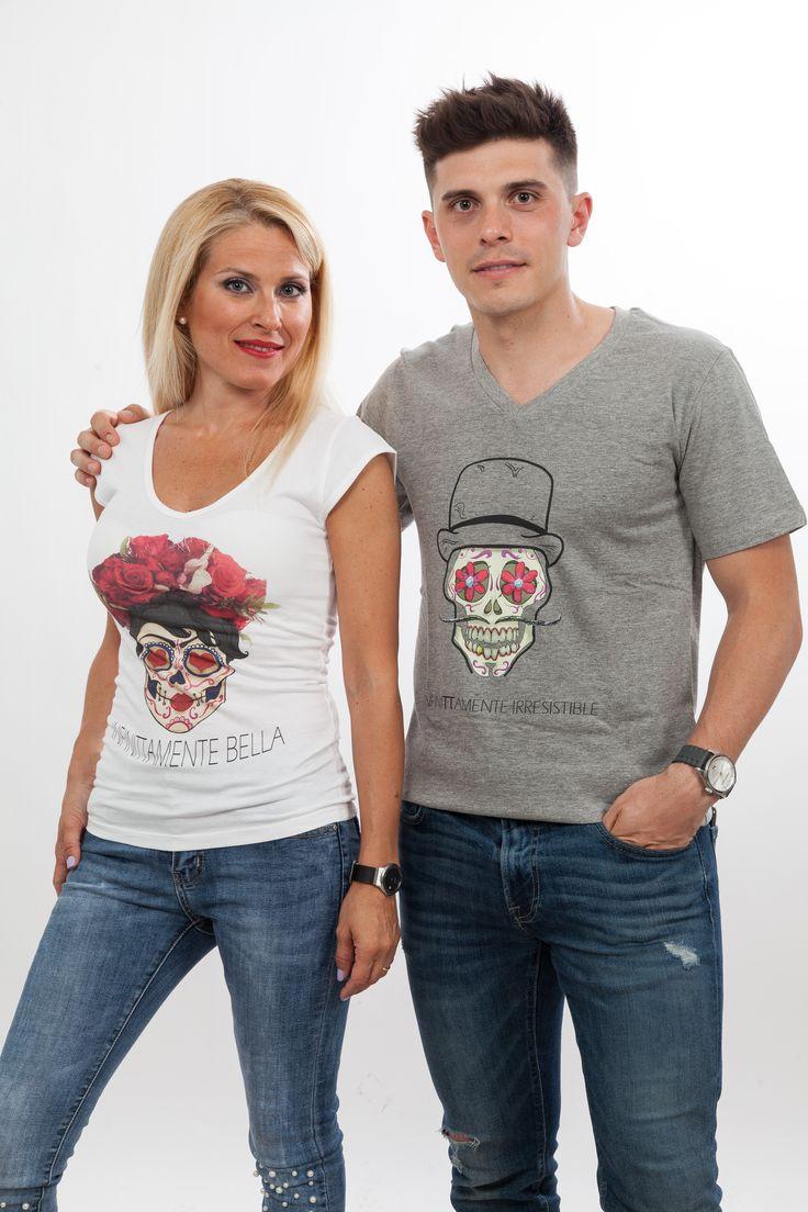 Camiseta calavera Infinitamente Bella y camiseta de pico para hombre, Infinitamente Irresistible
