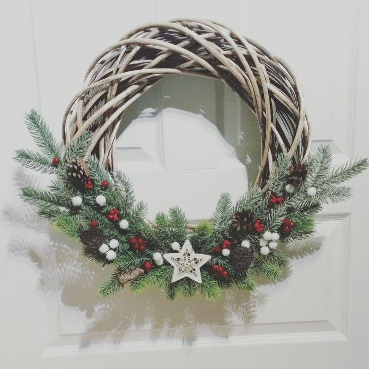 Wreath / decoration / x-mas / wianek / dekoracja  biuro.cudnewianki@gmail.com