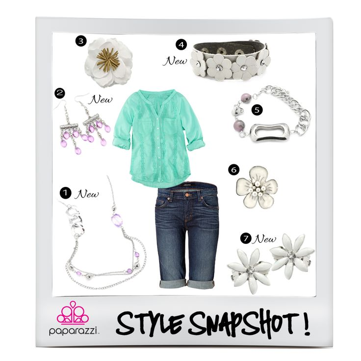 { Style Snapshot } The perfect summer outfit complete with fabulous $5 accessories!