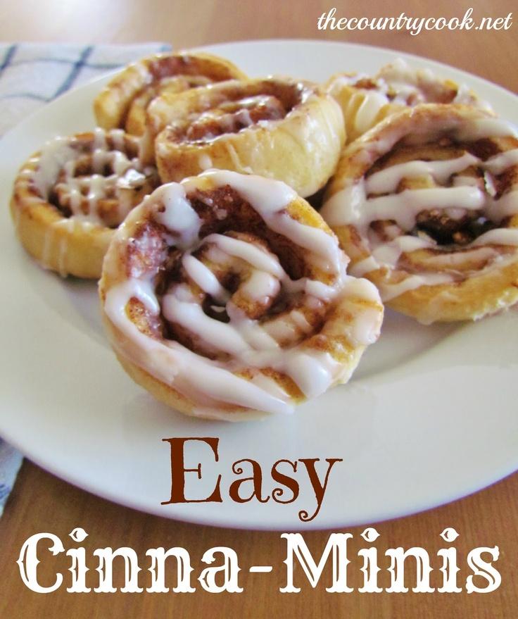 Easy Cinna-Minis
