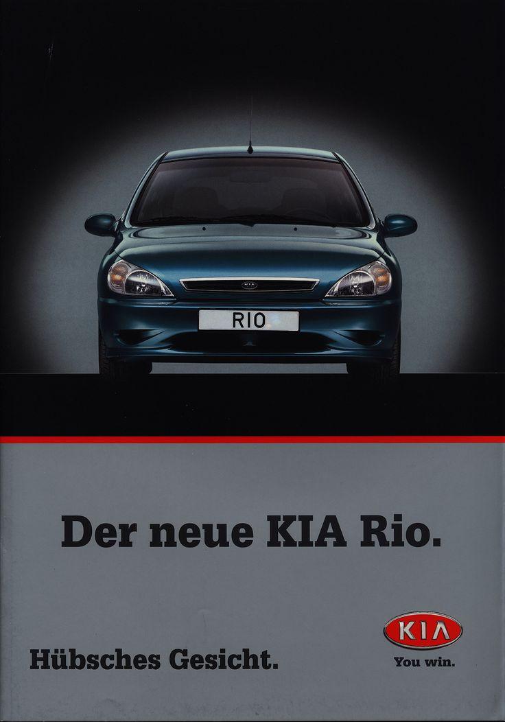 https://flic.kr/p/EuXkLb | KIA Rio, Der neue; 2000_1 car brochure by worldtravellib World Travel library