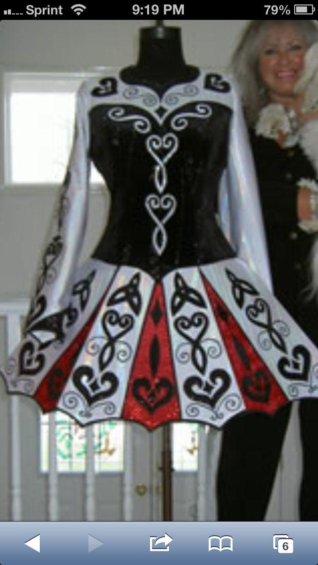 spirit of ireland dance designs irish dance solo dress costume - Irish Dancer Halloween Costume