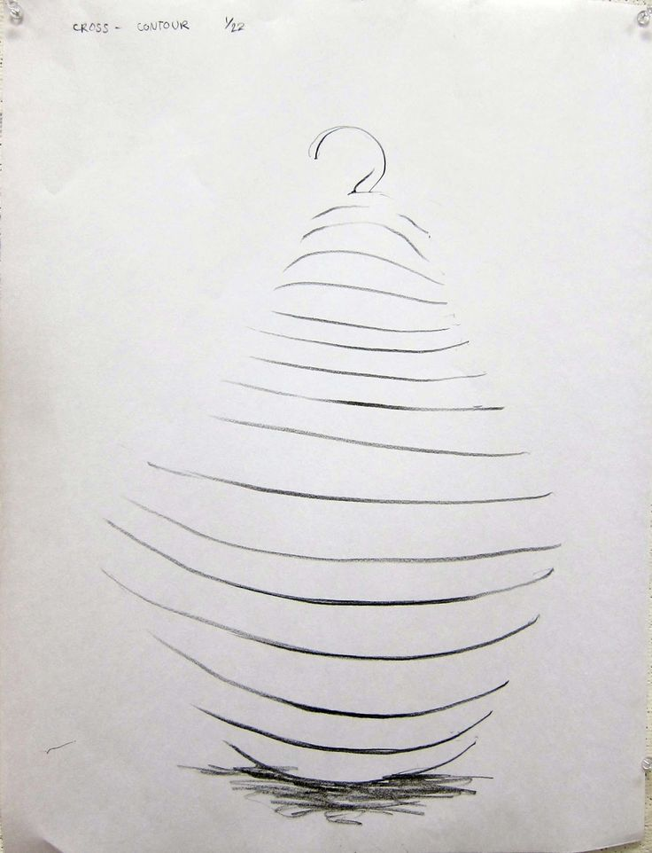 Rules For Contour Line Drawing : Best images about cross contour lines on pinterest