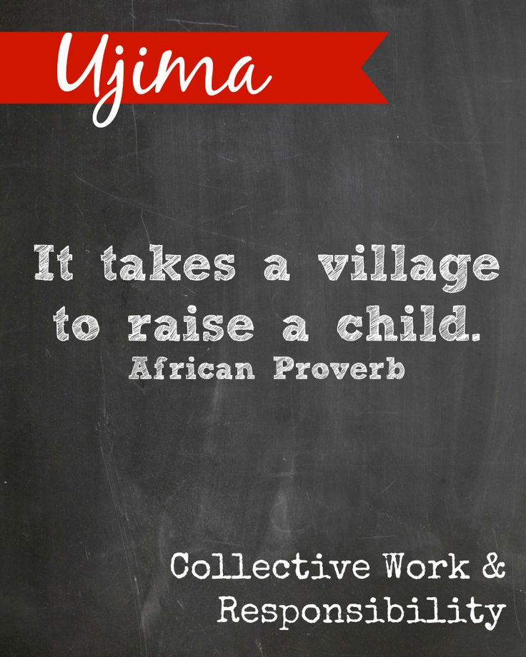 #Kwanzaa printable. Ujima means Collective Work & Responsibility. {PLEASE DO NOT ALTER THIS IMAGE WITHOUT PERMISSION}