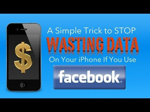 Save WASTED Data Usage on Your iPhone (If You Use Facebook)
