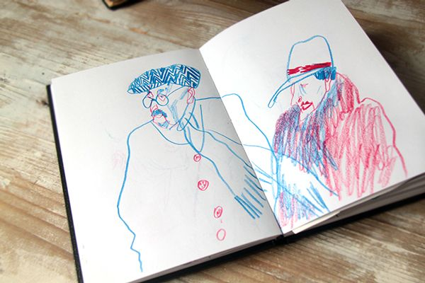 Victoria Antolini - Sketchbook on Behance