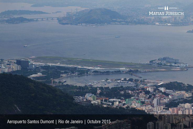 "Aeropuerto ""Santos Dumont""    Rio de Janeiro, Brasil"