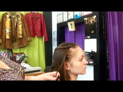 1033 Main Salon & Spa: Quick & Easy Braided Medieval Headpiece