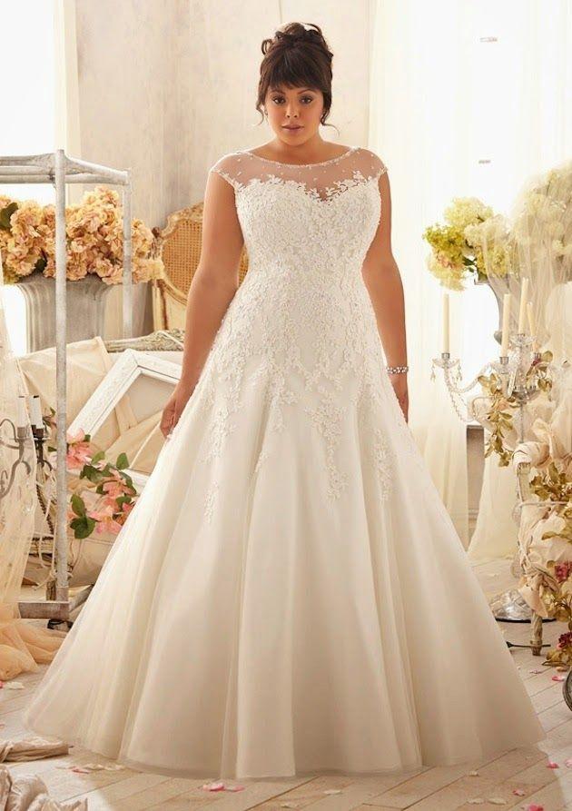 mejores 37 imágenes de novias en pinterest | vestidos de talla