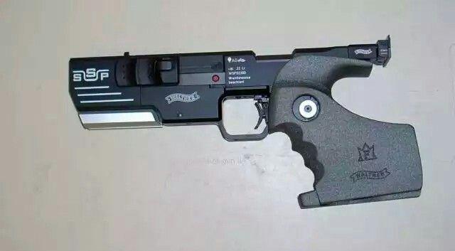 Walther SSP Sportpistole Kal. .22lr, 5er Magazin, Abzug & Visier ist voll verstellbar