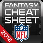 NFL Fantasy Football Cheat Sheet 2012 for iPad ScreenshotsDescriptionOne of the most popular fantasy apps in 08, 09, 10, & '11 is now the official fantasy cheat sheet of the National Football League. Featuring NFL content in addition to the latest player news, injury reports, depth charts, ...