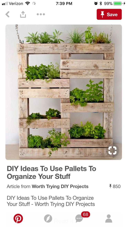 les 25 meilleures id es de la cat gorie palette de jardin d 39 herbes aromatiques sur pinterest. Black Bedroom Furniture Sets. Home Design Ideas