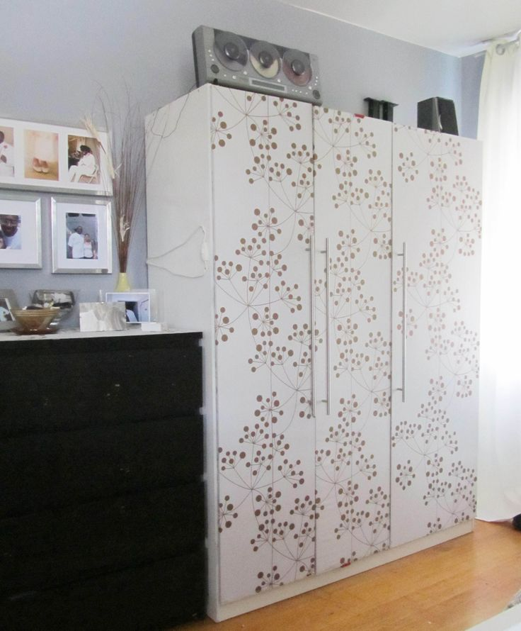 Ikea Ideas Studio Apartment ~ Customized Ikea Dombas Wardrobe Wardrobe Hack, Bedroom Decor, Decor