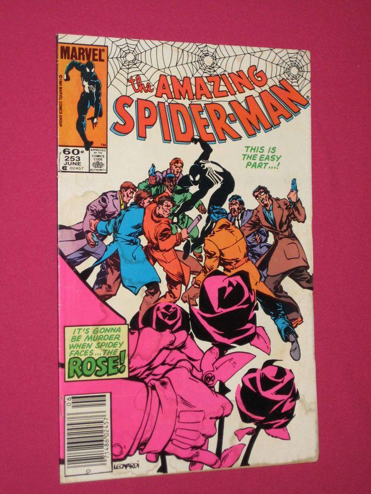 The Amazing Spider-Man #253 Marvel Comics 1984 Key..1st App Mr. Varley, Rose (A) | eBay