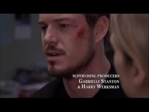 Mark Sloan's first scene on Grey's. I love that he gets punched in the face!