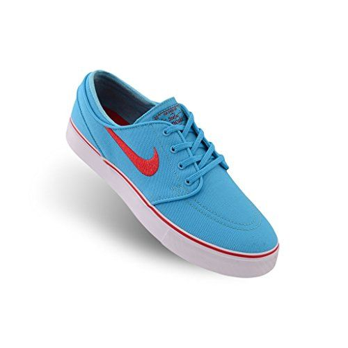 Nike Zoom Stefan Janoski Cnvs Mens Skateboarding Shoes Gmm BLUnvrsty  RDWhiteWhite 9 US Mens Gmm BLUnvrsty