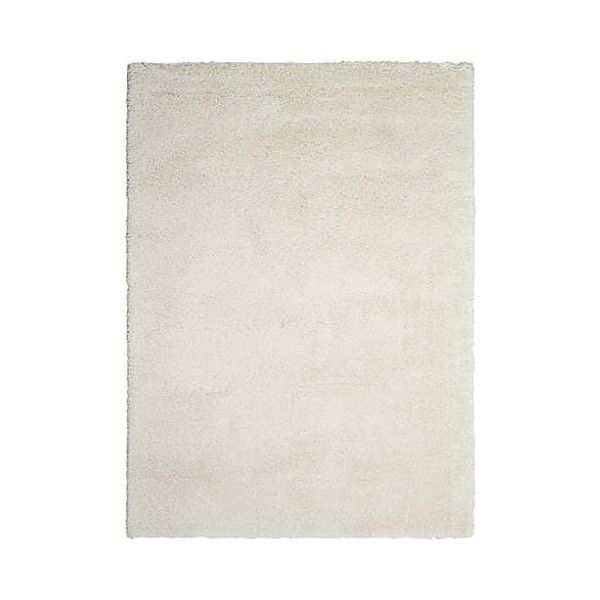 Kathy Ireland Yummy YUM01 White Shag Area Rug (1,155 BAM) ❤ liked on Polyvore featuring home, rugs, white area rug, kathy ireland rugs, kathy ireland area rugs, white shag rug and shag rug