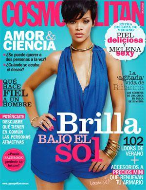 Rihanna en Cosmopolitan julio 2013