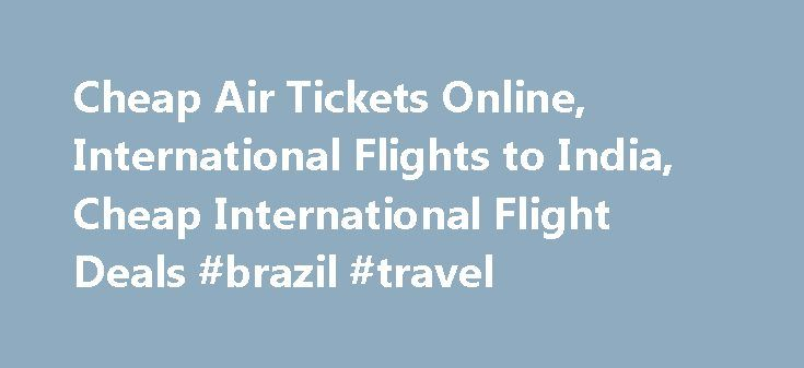 International flight discount airline ticket bikini