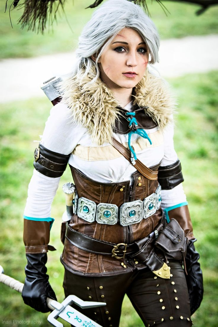 Me as Ciri from The Witcher https://www.facebook.com/JurietCosplay/