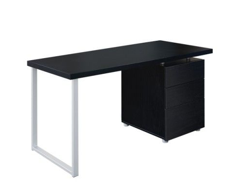 This contemporary Veneer Computer Desk Set is ideal for executives and professionals, where it has successfully combined simplicity with a touch of elegance. The computer desk comes with a cabinet with three drawers, providing generous storage space for organising documents and stationery.  http://www.rosaelonline.com.au/product/office-study-computer-desk-w-3-drawer-cabinet-black/