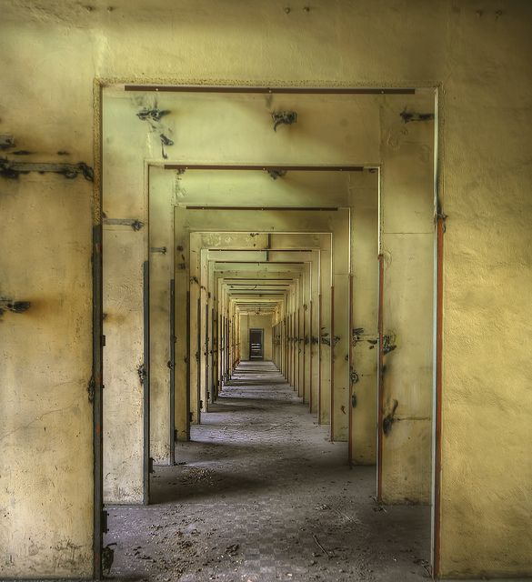 making symmetrical pattern/image from photographs...Abandoned power plant  : by andre govia.