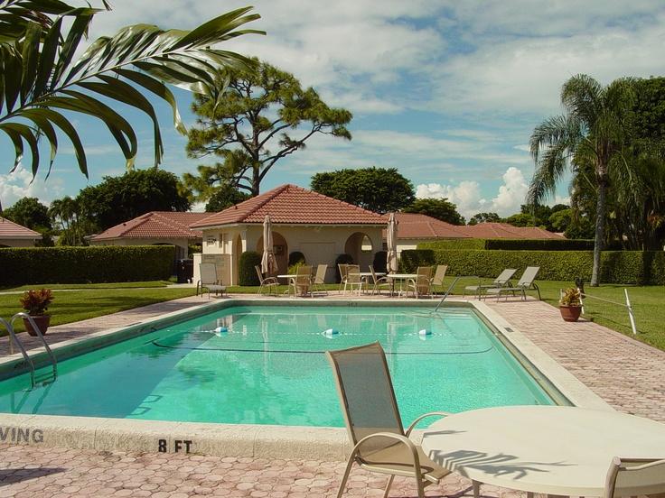 Fairway Villa Heated Pool In Delray Dunes Golf Country