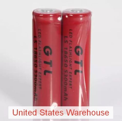 2pcs-GTL-18650-3-7V-5300mAh-Rechargeable-Lithium-Batteries-Red