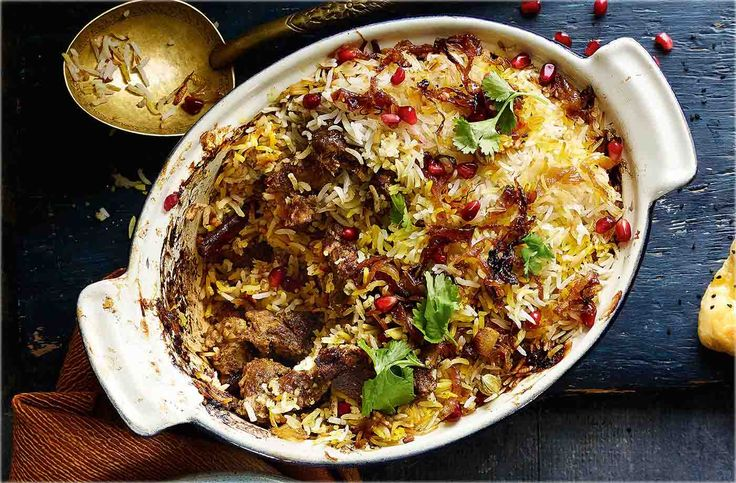 This aromatic lamb biryani recipe makes a crowd-pleasing curry for an Indian feast or weekend curry night. Find more biryani recipes at Tesco Real Food.