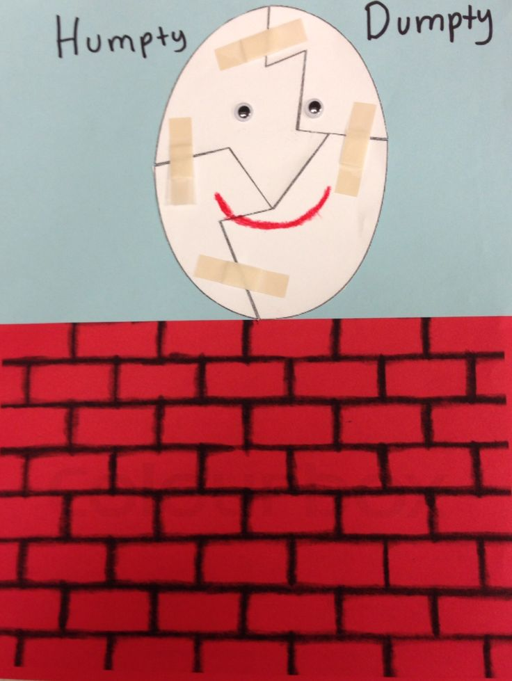 humpty dumpty puzzle template - 15 best paper puzzles back to school images on pinterest