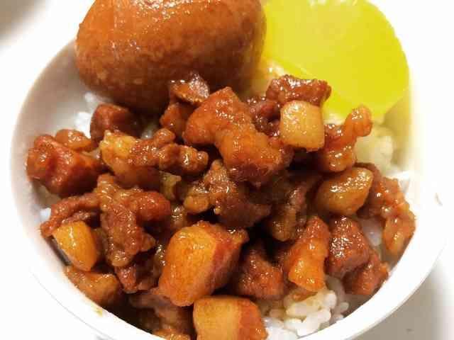 簡単!本場台湾的魯肉飯(ルーローハン)。の画像