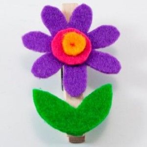 Rozkvetlý kolíček / Flower pin