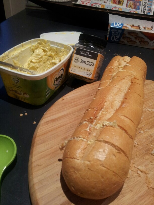 Homemade herb butter made with YIAH Roma Italian spice blend. http://vanessabrewster.yourinspirationathome.com.au/