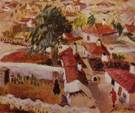 Balchik Landscape - Micaela Eleutheriade