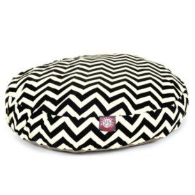 Sam's Club - Majestic Pet Round Pet Bed, Black Chevron (Choose Your Color and Size)