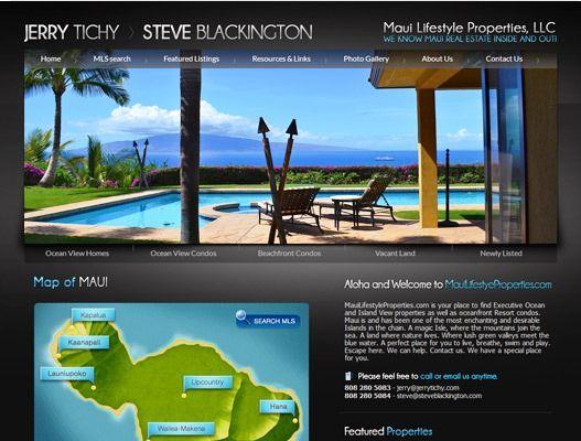 Website Real Estate Desain Terbaik - Maui Lifestyle Properties - Maui, HI