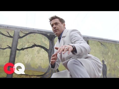 GQ: Robert Downey Jr.'s GQ Style Cover Shoot: Behind the Scenes - Celebrities