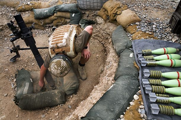 """Mortars.""695D51, Post, Defence, Mortar, Things"