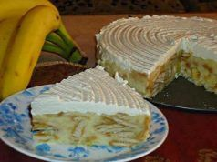 Velmi rychlý nepečený dort s banánem, který nemá chybu