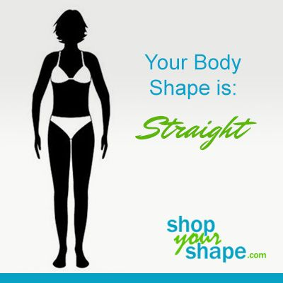 Your Body Type Is Straightyou Have The Most Common Body Type Over 45 Of American Women Have A