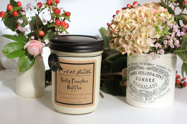 Yay Autumn!  1803 Candles new scents online