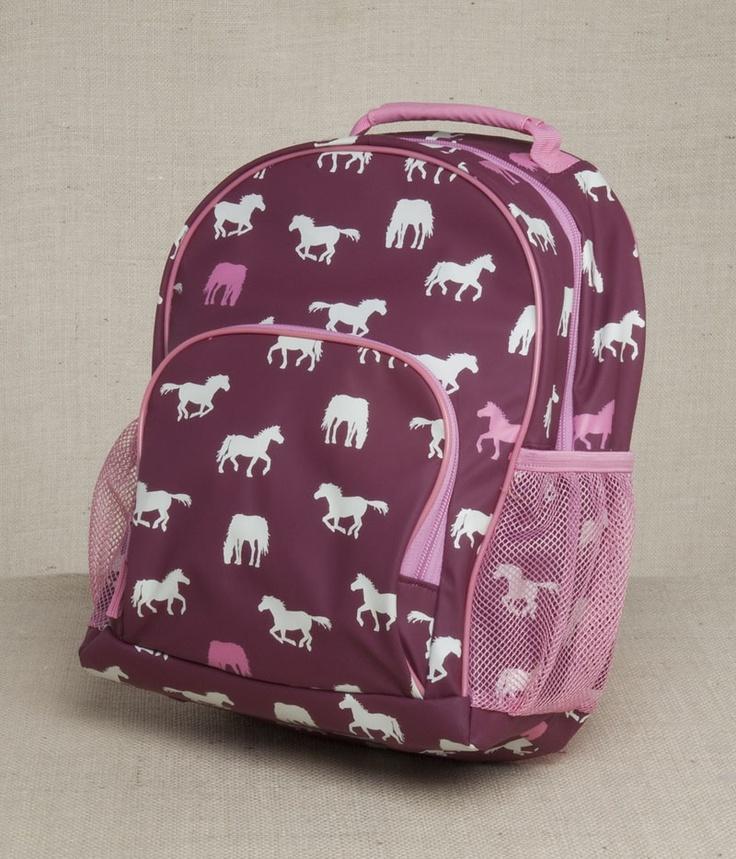 girls horse backpacks